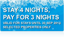 Holiday Accommodation Special on Selected Properties