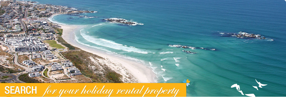 Aerial Photo of Bloubergstrand Self Catering